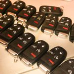 stock of car key remotes