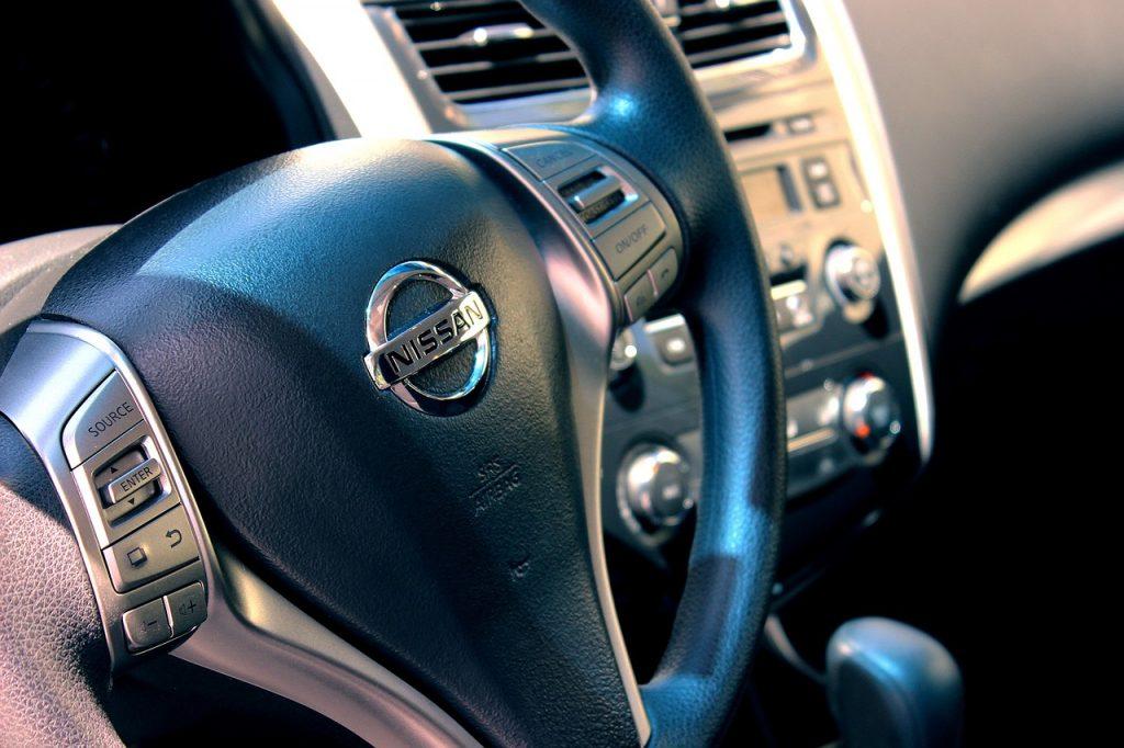 Nissan car key in Boston