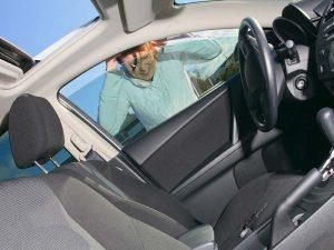 forgot key in the car