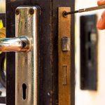 replacing door lock