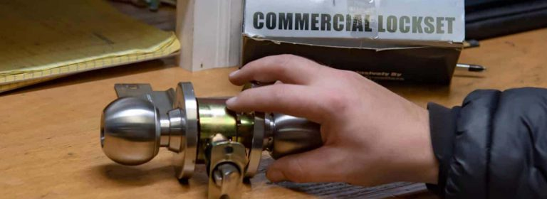 commertial lock replacement