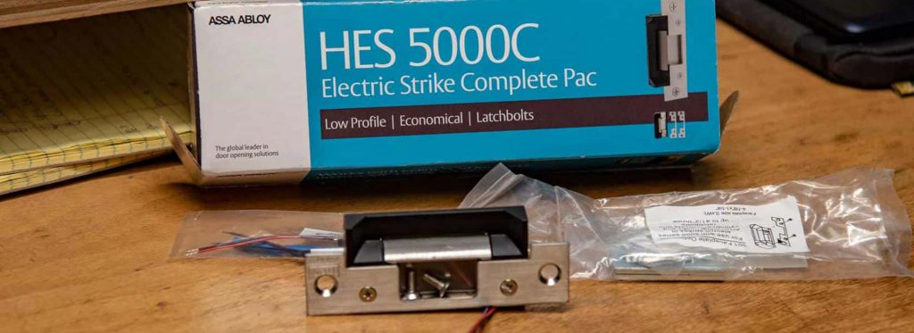 electric strike complete pac